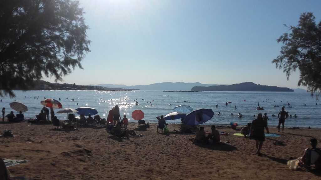 Plaża Glaros